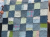 Judi Lux Rag Quilt from Jeans