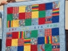 Judi Lux Scrap quilt for baby