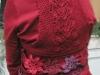 Jackie Ferrara Crocheted and Knitted Vest she designed