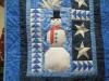 Sam Conlon Paper pieced Snowman