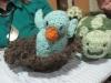 Shirley Darrow Knitted bird