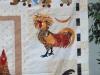 Marie Reed Chicken Quilt Closeup