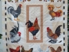 Marie Reed Chicken Quilt