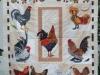 Marie Reed Chicken Quilt