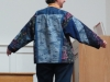 Janet Jozwiak Quilted Jacket back