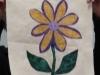 Sam Conlon Thread Painting Flower