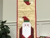 Gail Carl-Santa table runner