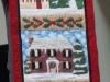 Sharon Levenway House quilt panel